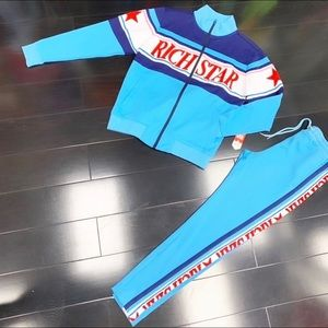 Rich Star Track Suit NWT 🔥